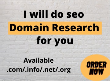 I will do seo Domain research for you