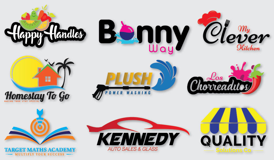 I will design an eye-catching professional business logo