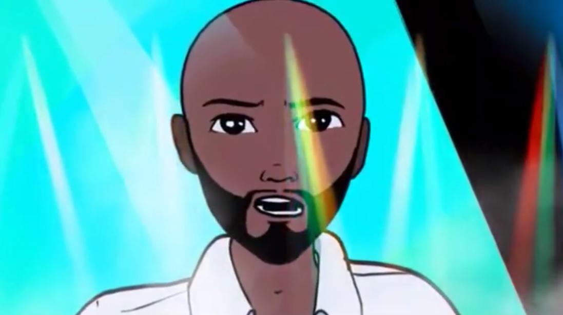 Create a 2d,3d character animation, 2d, 3d cartoon music animation video