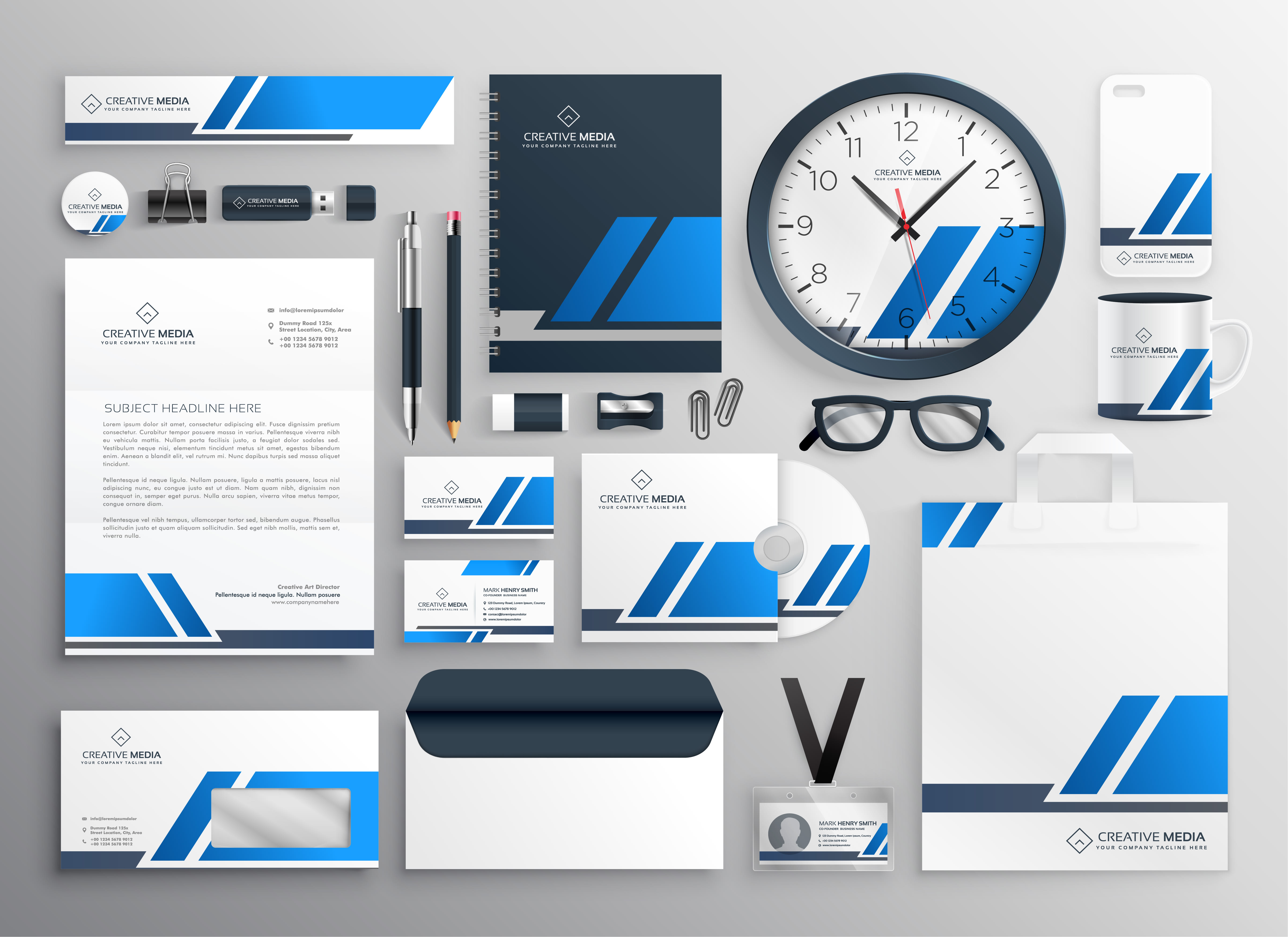 I will design professional brand logo and corporate brand identity