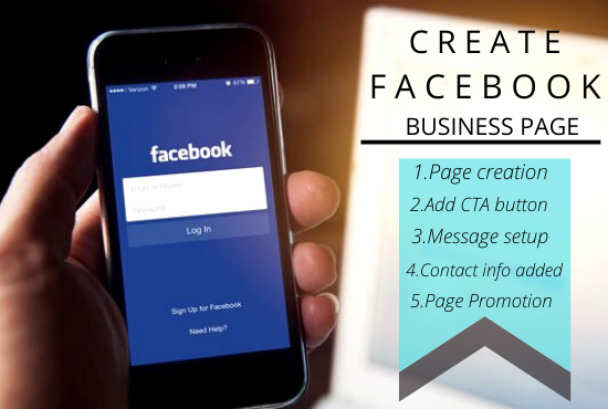 Create & design impressive Facebook business page