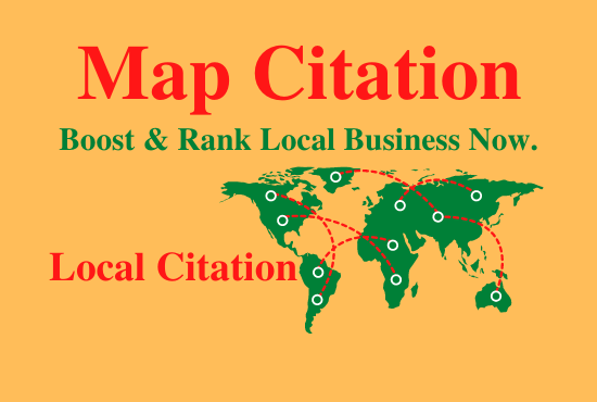 Manually 150 Google Maps Citation To Boost & Rank Your Local Citations For Business SEO