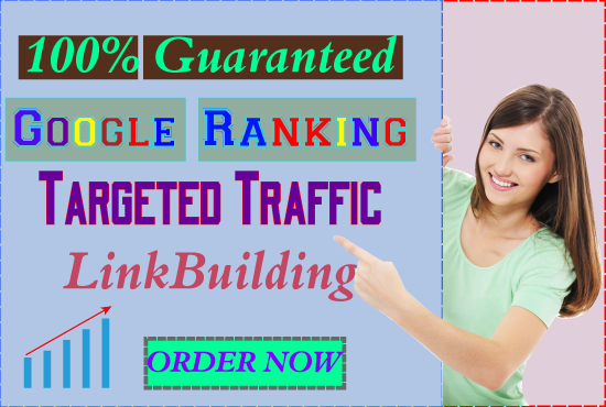 I Offer you Guaranteed Google 1st Page Ranking with best link building services