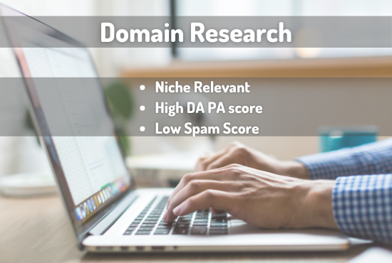 Niche relevant expired Domain Research with high DA and PA
