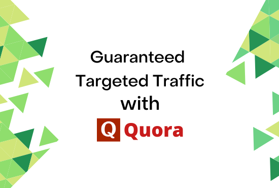 Guaranteed Niche related Targeted Traffic with 30 Quora Answer
