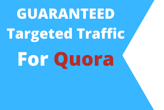 Guaranted Niche related Targeted Traffic with 10 Quora Answer
