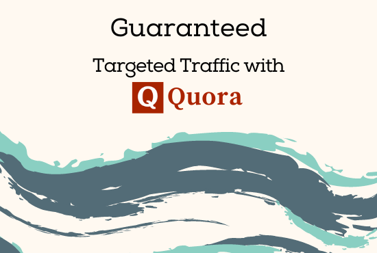 Guaranteed Niche related Targeted Traffic with 50 Quora Answer