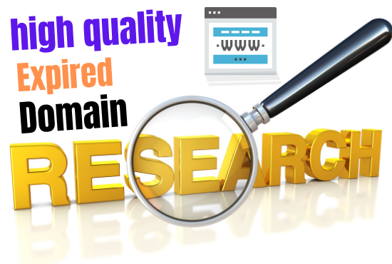 Provide high quality 1 expired domain with powerful metrics