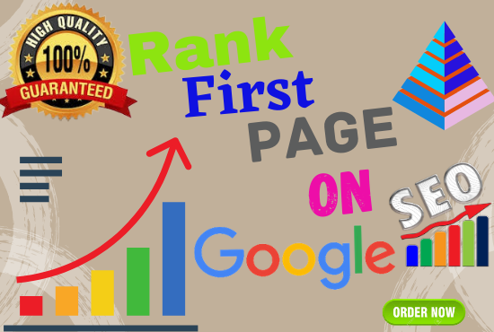Guaranteed 4 Keywords Google 1st page ranking with best linkbuilding service
