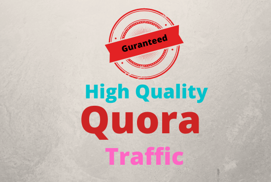 I Will Generate High Quality Targeted Traffic with 10 Quora Answers