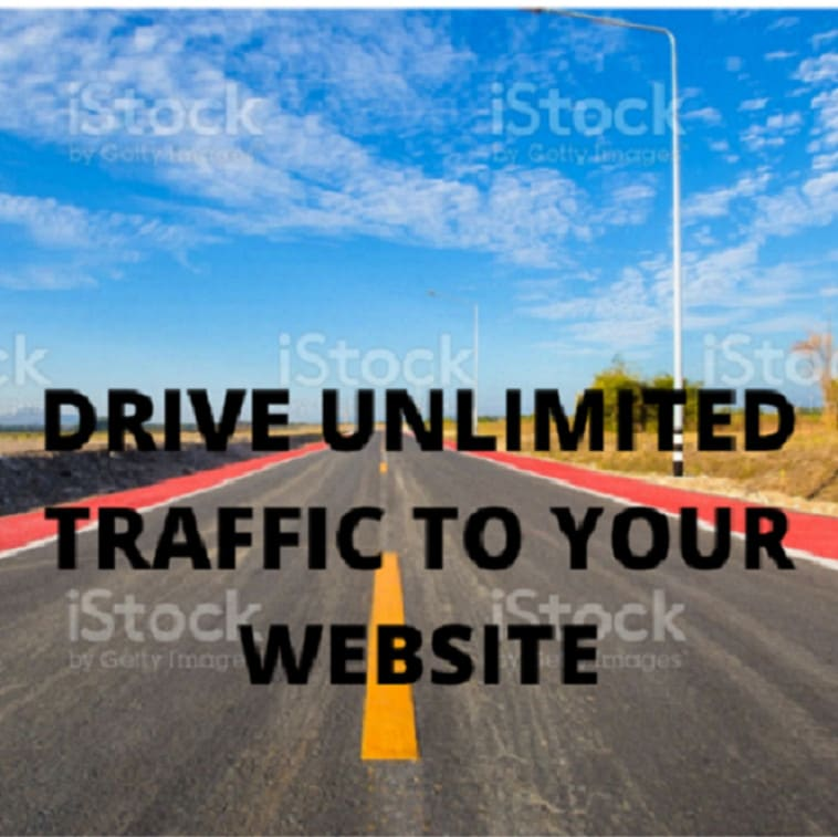 Drive unlimited real human and visitors to your website