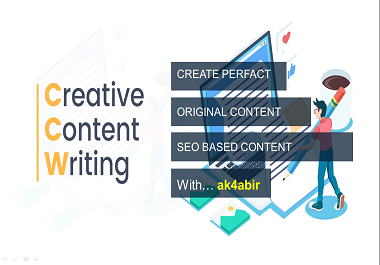 I will write high quality based content for your bussiness