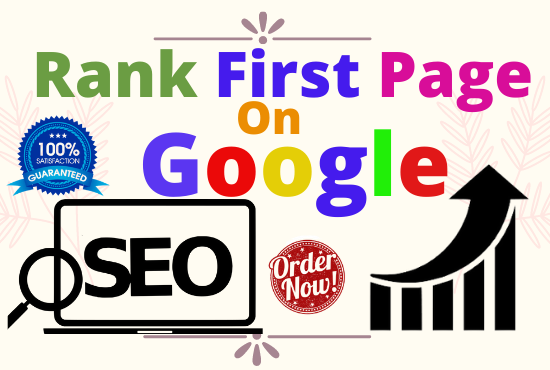 Monthly SEO Service with 1st Page Ranking linkbuilding