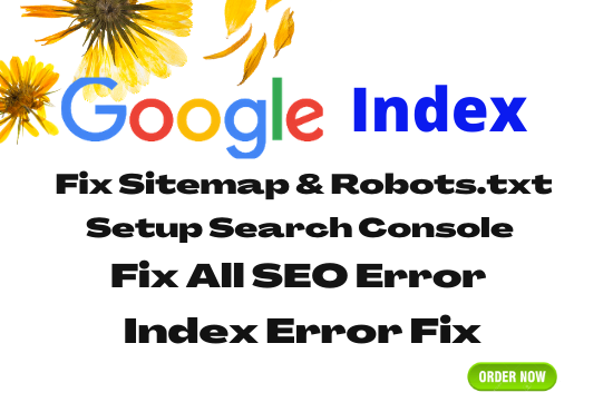 I will Index your website and fix issues of google search console