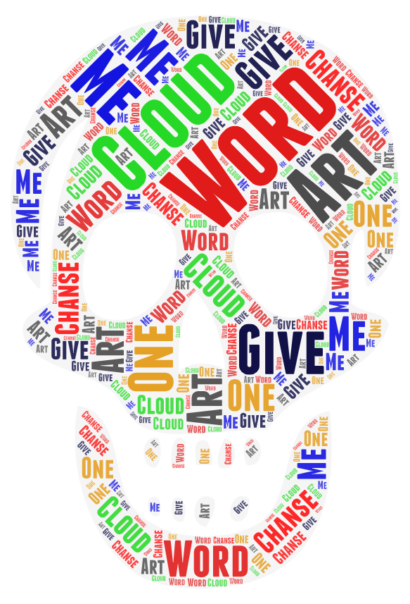 I will create word cloud art and T-shirt