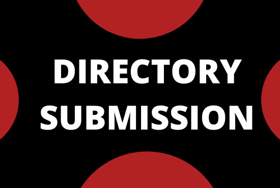 I will do 100 high quality directory submissions
