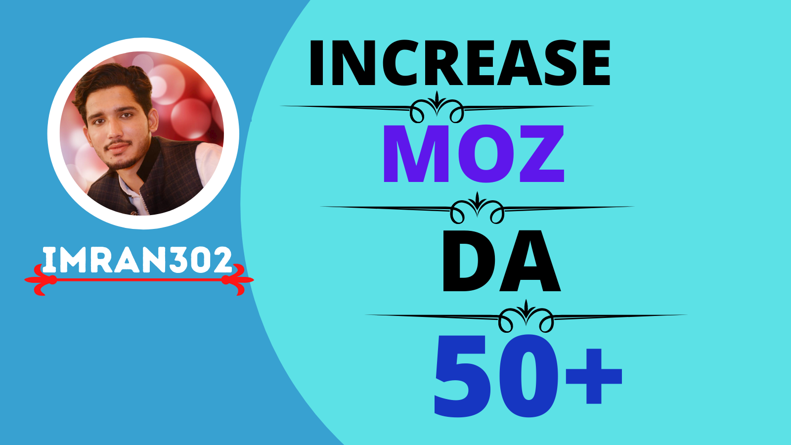 I will increase your domain authority, Moz DA 50+ for 50