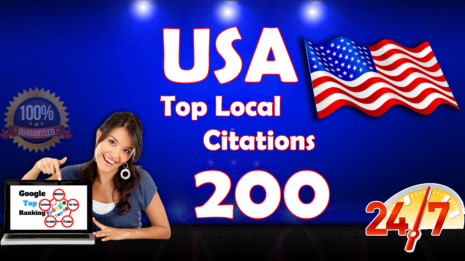 i will do Best USA Local citations
