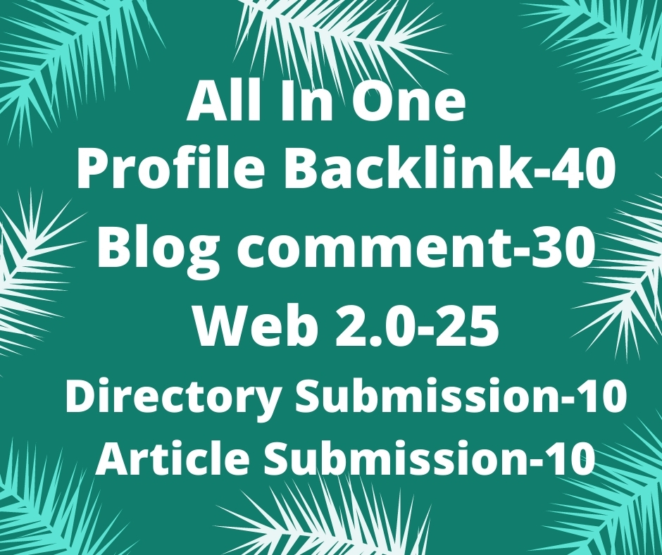 I will do high quality do-follow SEO backlink to rank your website