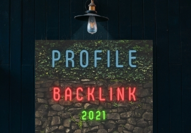 High authority 50 social profile backlinks to boost your website