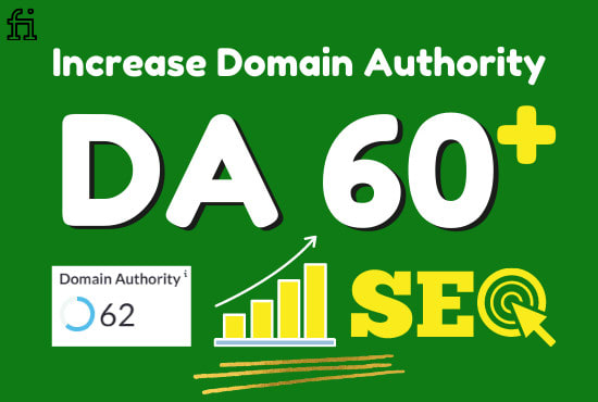 I will swiftly increase domain authority 60 plus