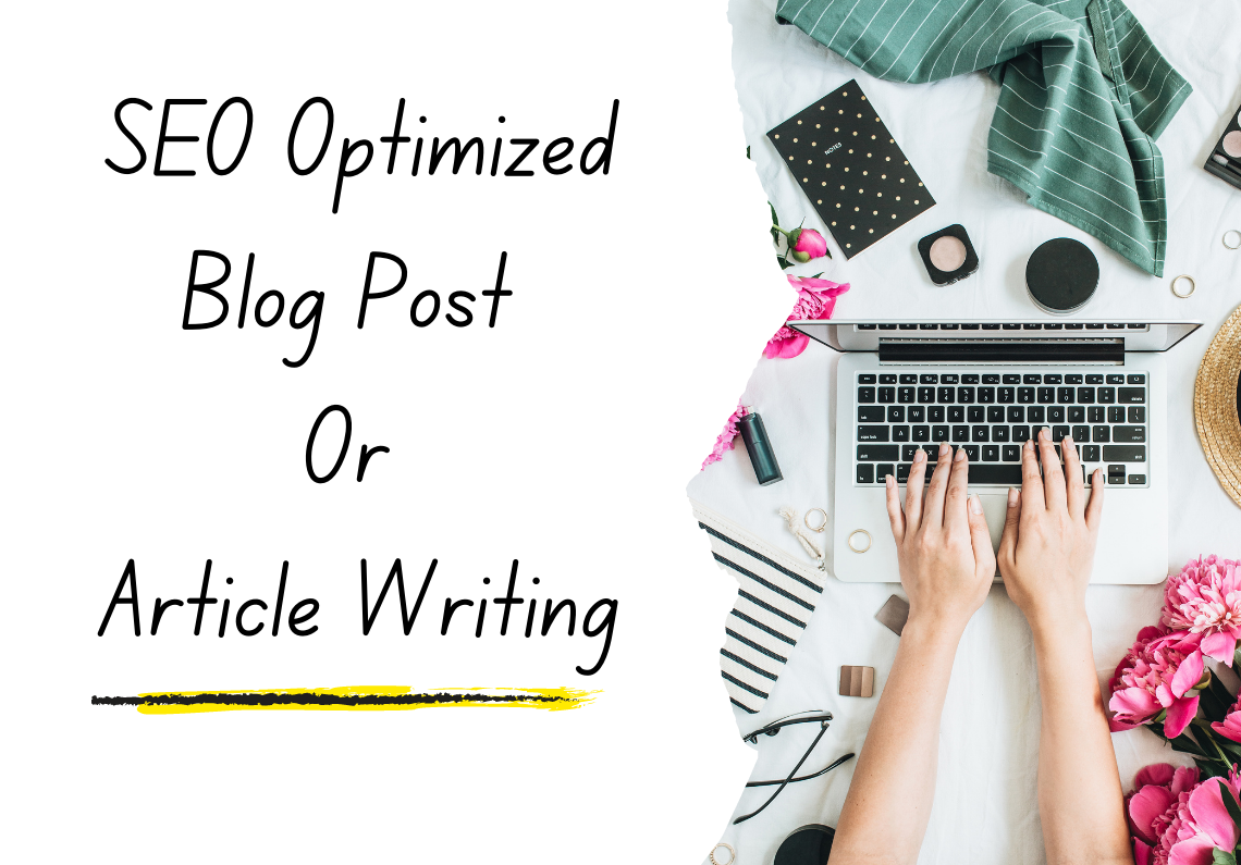 1000 words unique seo Article writing on any topic for your website or blog