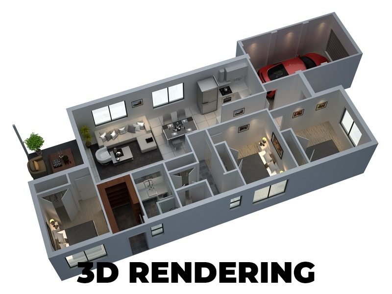 I will do 3d and 2d floor planning for you