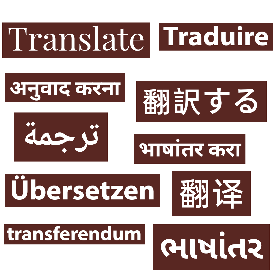 Get your article Translated into any language