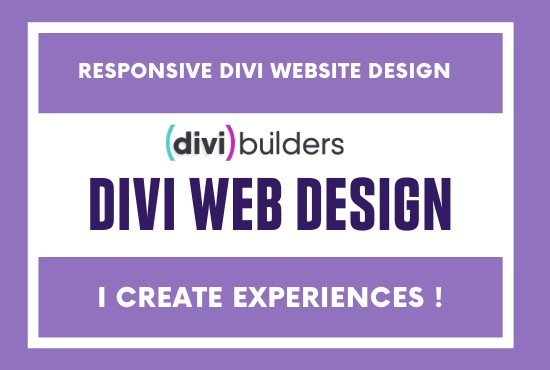 I will design,  redesign divi wordpress website using divi theme