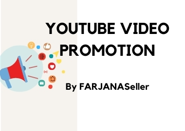 High Quality YouTube Video Promotion with Organic Audience for 3