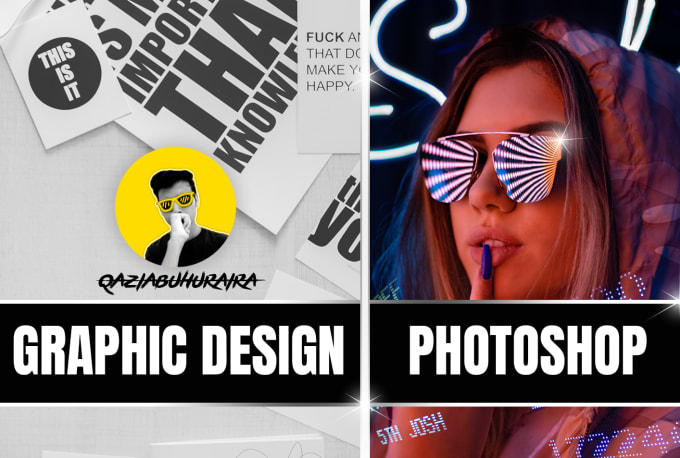 do any graphic design or adobe photoshop work