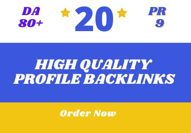 Get Highest PR With High DA PA Quality Backlinks
