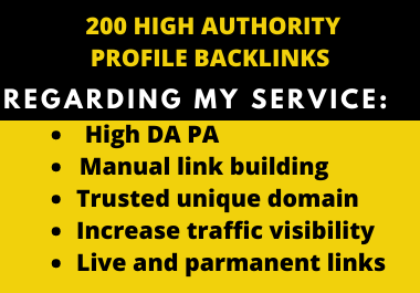 Get Google Ranking With High Authority Backlinks