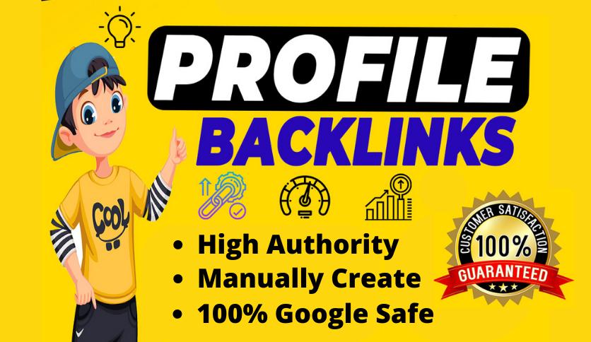 300 Effective HQ Profile Backlinks With Unique Domain