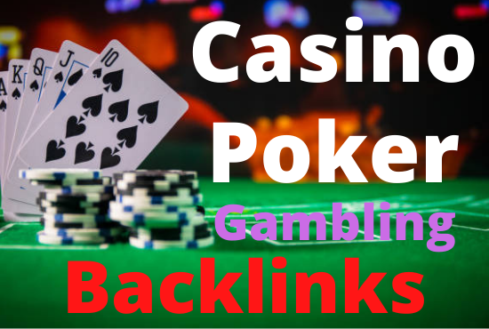 I will create 20 high authority casino poker gambling pbn backlinks