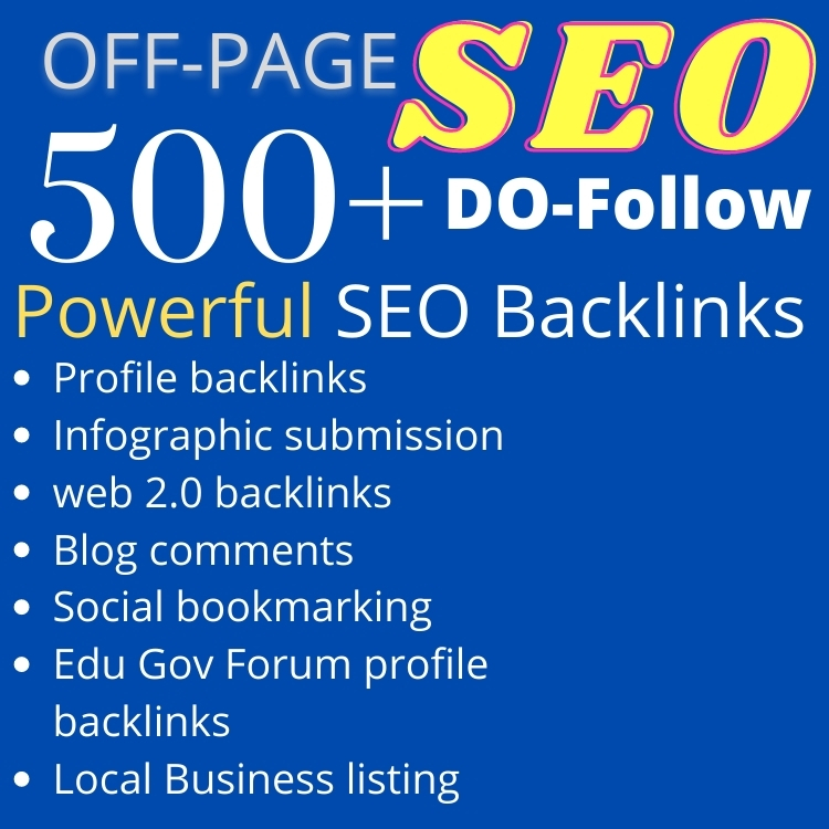 Ranking website on Google with Powerful SEO Baclinks