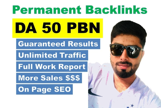 build the ultimate high da 50 white hat do follow SEO backlinks