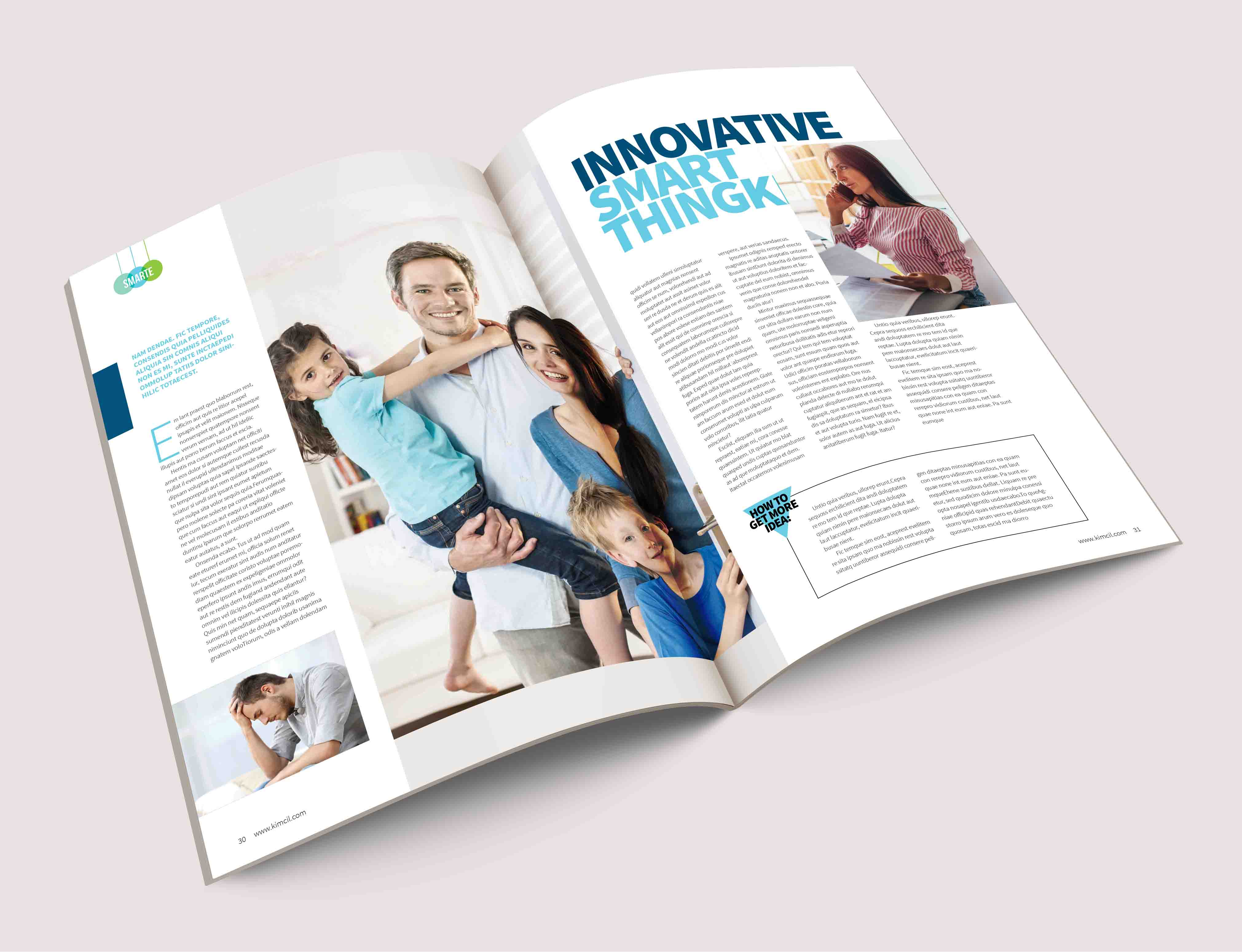 I will design a nice ebook and magazine with adobe indesign
