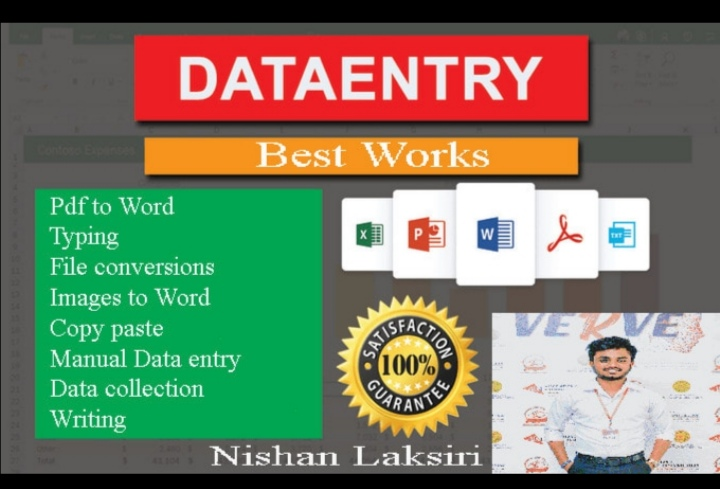 Super Fast Data Entry with Customer Satisfaction. Provide high quality services for all customers