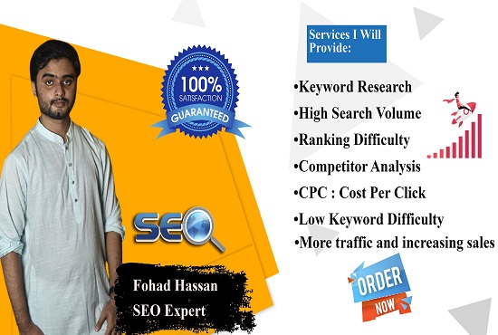 I will do amazing keyword research and competitor analysis
