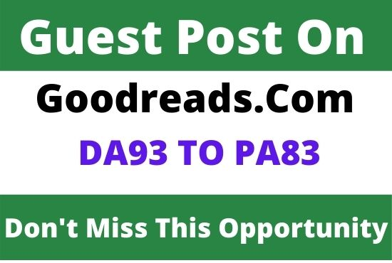 DA93 Write and Publish Guest Post on Goodreads. com