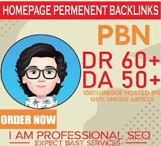 I will provide 20 Homepage PBN backlinks High Da 50+ Dr 60 Tf/Cf 20+ Permanent Post PBN