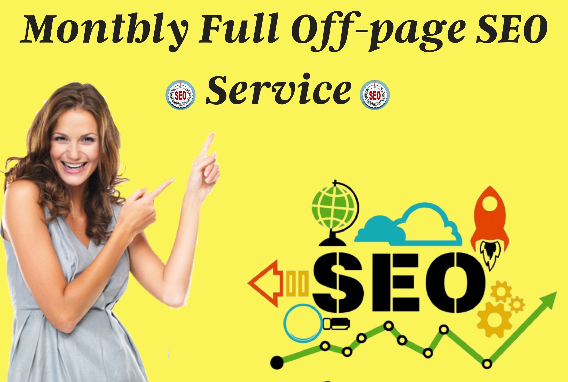 Monthly full off page SEO service with High Quality 750 backlink