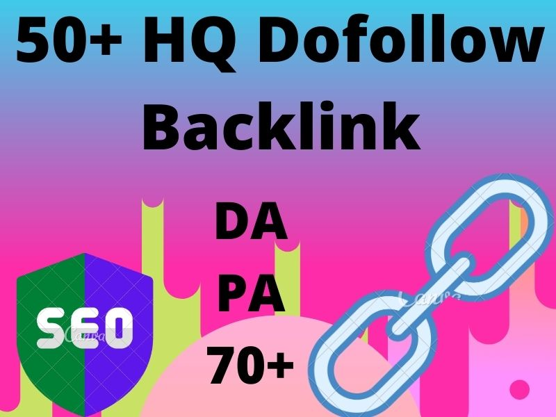 I will provide 50+ high Quality Grunted Dofollow Backlinks DA PA 70+ for your Google Top Page Ranki