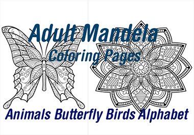 250+ adult mandela coloring pages animals birds alphabets
