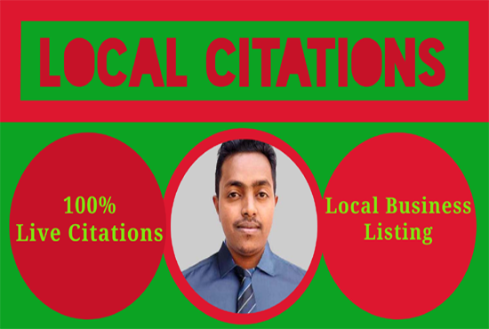 I will do local citations or business listing
