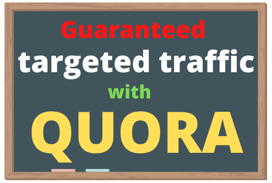 I will give you natural 30 high quality Quora answer with backlink