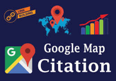 Manual 200 Google Maps citation high authority permanent backlinks