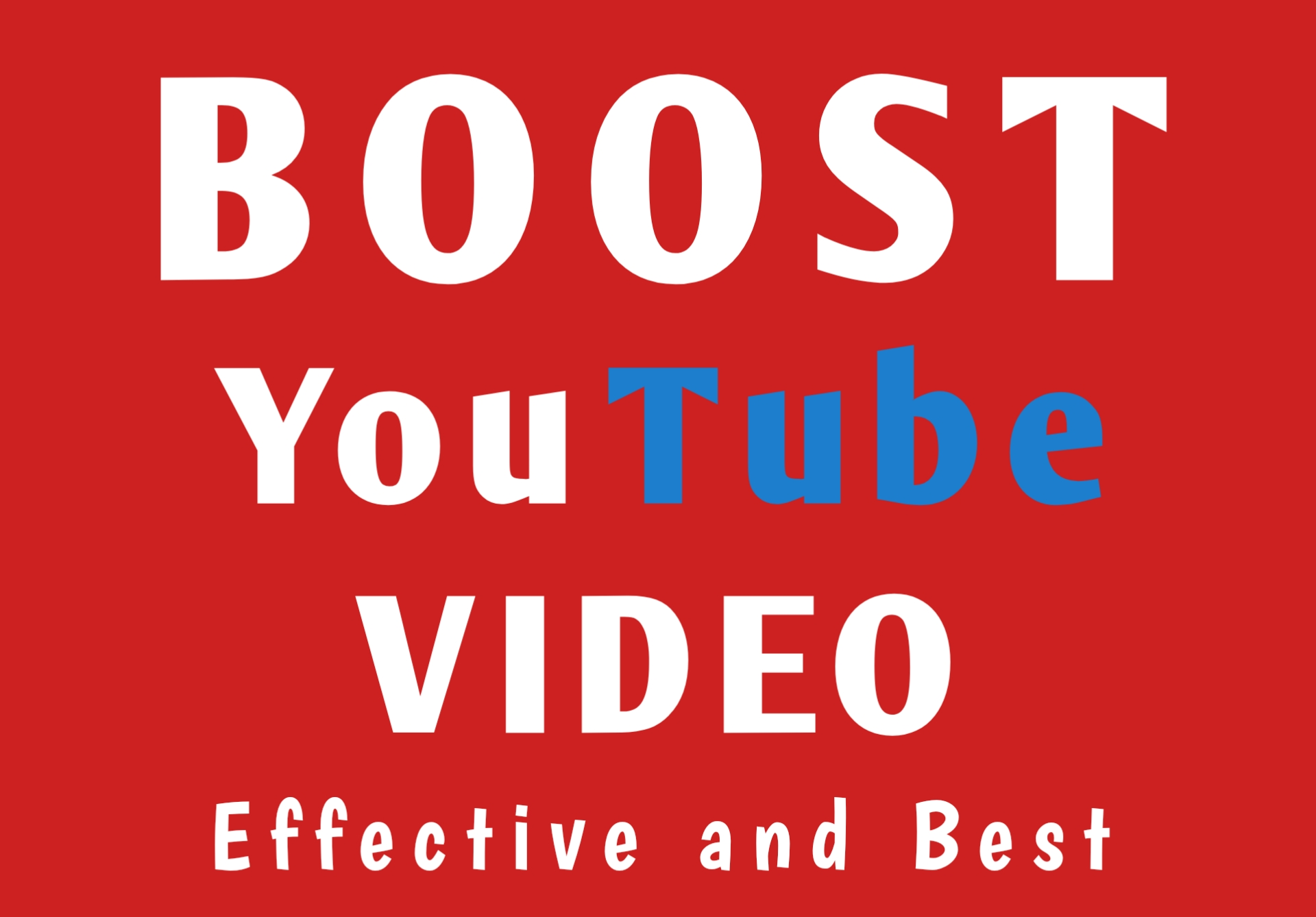 Boost Youtube Video Promotion Effectively