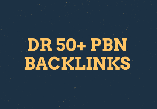Do 100 Manual HIGH DR 50 Plus Homepage PBN Backlinks